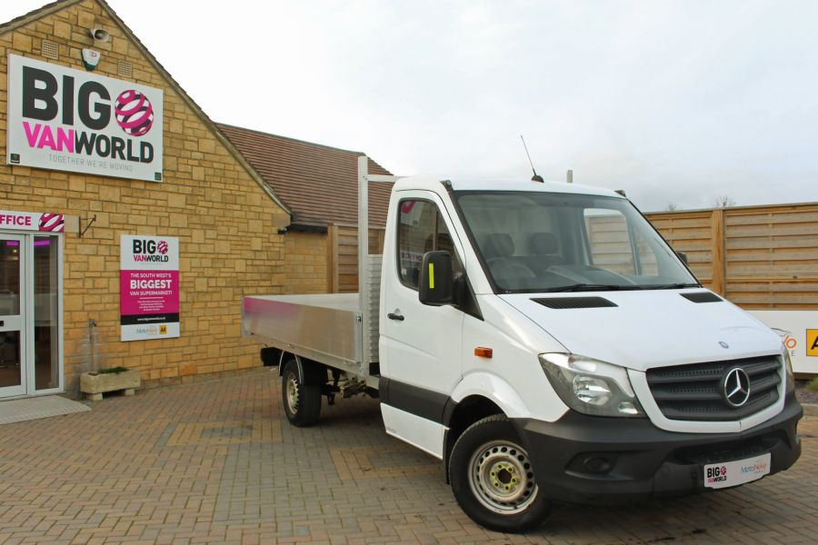 MERCEDES SPRINTER 313 CDI 129 MWB SINGLE CAB NEW BUILD ALLOY DROPSIDE - 9678 - 1