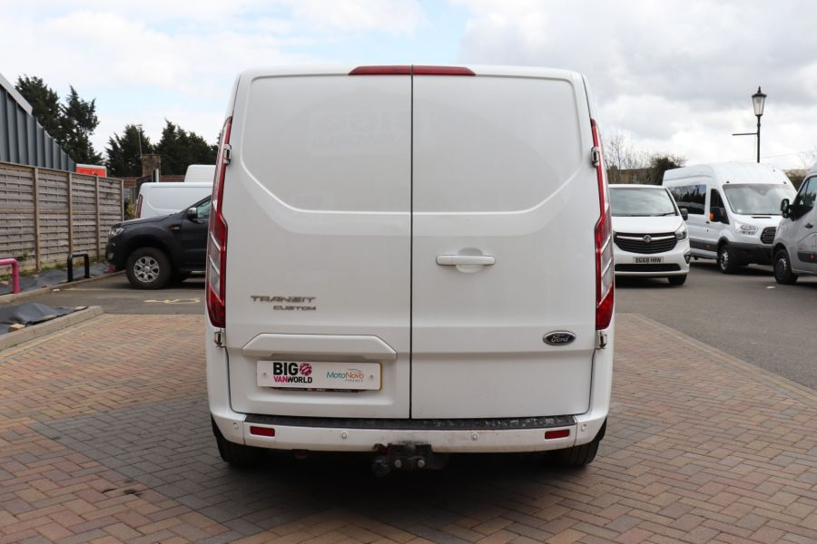 FORD TRANSIT CUSTOM 310 TDCI 130 L2H1 LIMITED DOUBLE CAB 6 SEAT CREW VAN LWB LOW ROOF FWD  (13819) - 12104 - 9