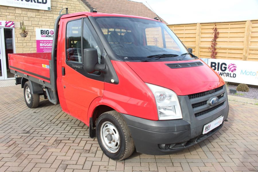 FORD TRANSIT 300 TDCI 110 SWB ALLOY DROPSIDE - 7031 - 3