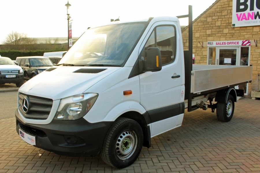MERCEDES SPRINTER 313 CDI 129 SINGLE CAB NEW BUILD ALLOY TIPPER - 9673 - 15