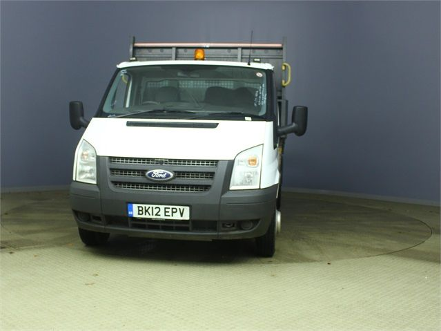 FORD TRANSIT 350 TDCI 100 MWB 'ONE STOP' ALLOY TIPPER DRW RWD - 6985 - 6