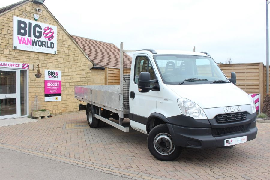 IVECO DAILY 70C17 16FT ALLOY DROPSIDE - 7217 - 1
