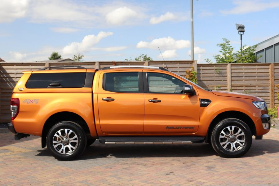FORD RANGER WILDTRAK TDCI 200 4X4 DOUBLE CAB WITH TRUCKMAN TOP - 9538 - 4