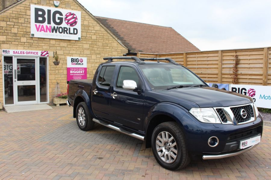 NISSAN NAVARA OUTLAW DCI 231 4X4 DOUBLE CAB WITH TONNEAU COVER - 7877 - 3