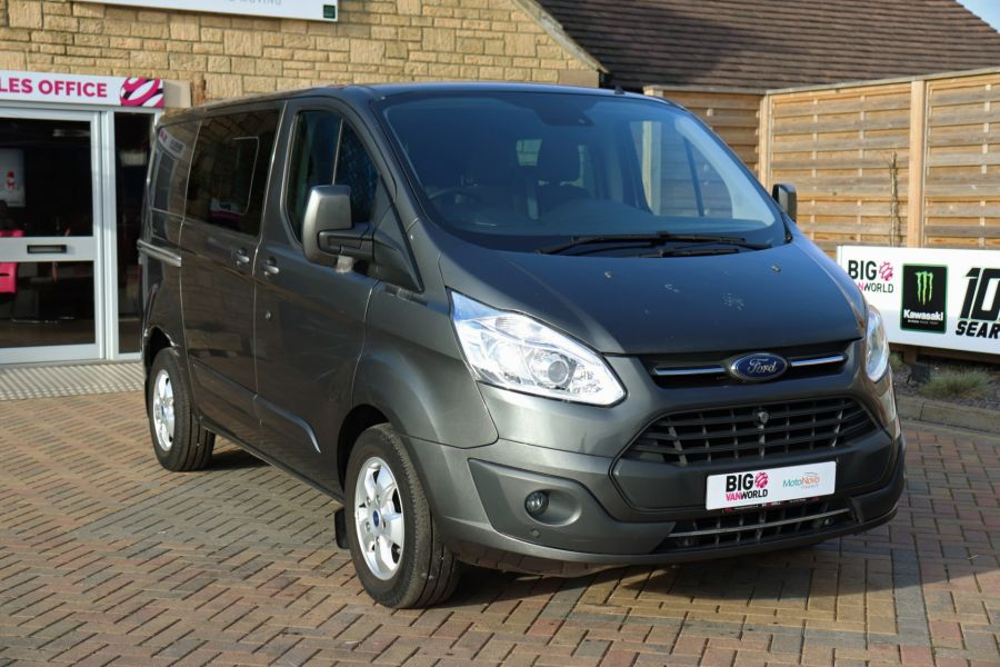 FORD TRANSIT CUSTOM 290 TDCI 130 L1H1 LIMITED DOUBLE CAB 6 SEAT CREW VAN SWB LOW ROOF - 10123 - 3
