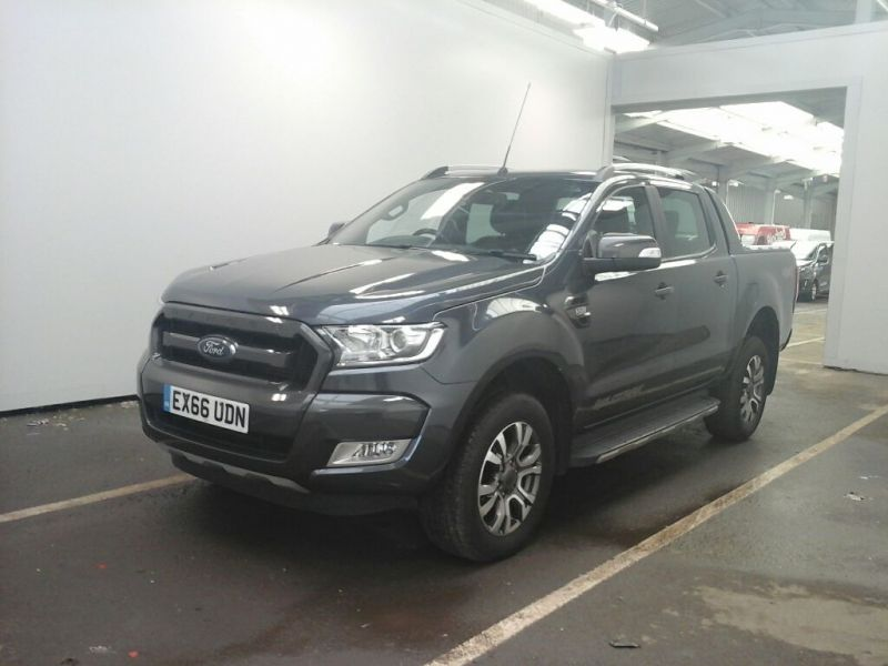 FORD RANGER WILDTRAK TDCI 200 4X4 DOUBLE CAB - 10033 - 1