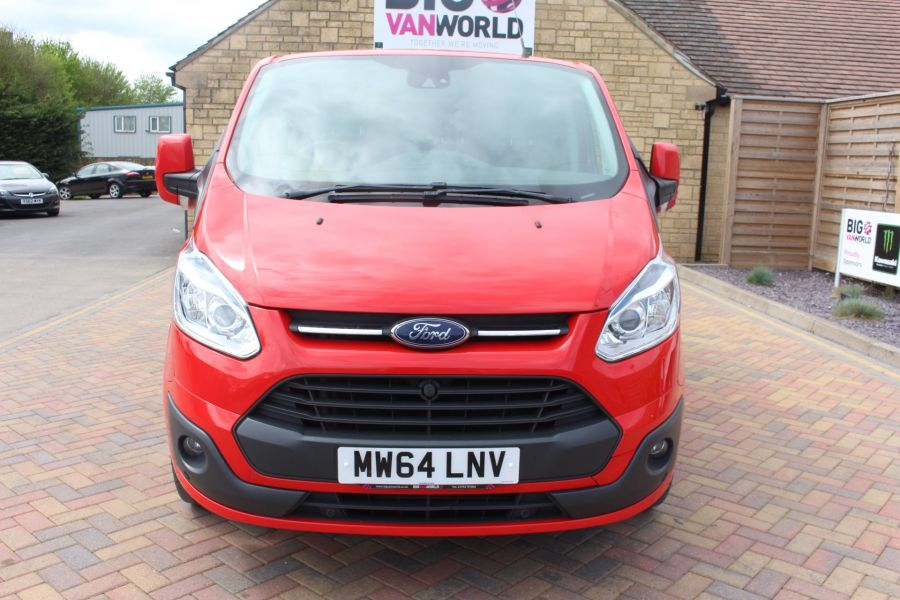 FORD TRANSIT CUSTOM 290 TDCI 125 L1 H1 LIMITED SWB LOW ROOF FWD - 9116 - 9