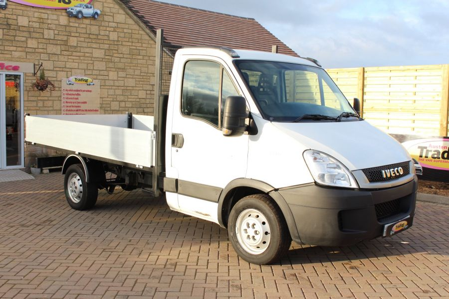 IVECO DAILY 35S11 MWB SINGLE CAB 11FT 6IN ALLOY TIPPER - 5178 - 8