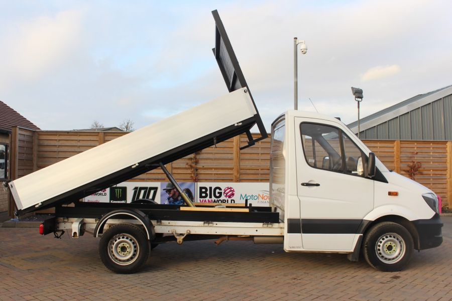MERCEDES SPRINTER 313 CDI 129 SINGLE CAB NEW BUILD ALLOY TIPPER - 9673 - 4