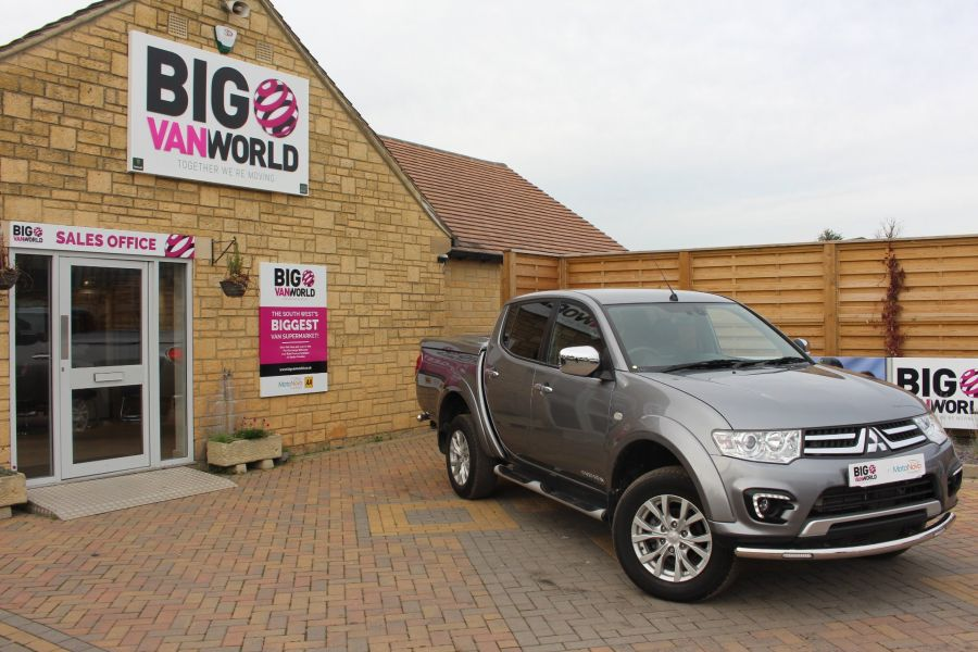 MITSUBISHI L200 DI-D 4X4 LWB BARBARIAN LB 175 BHP DOUBLE CAB WITH MOUNTAIN TOP  - 6724 - 1