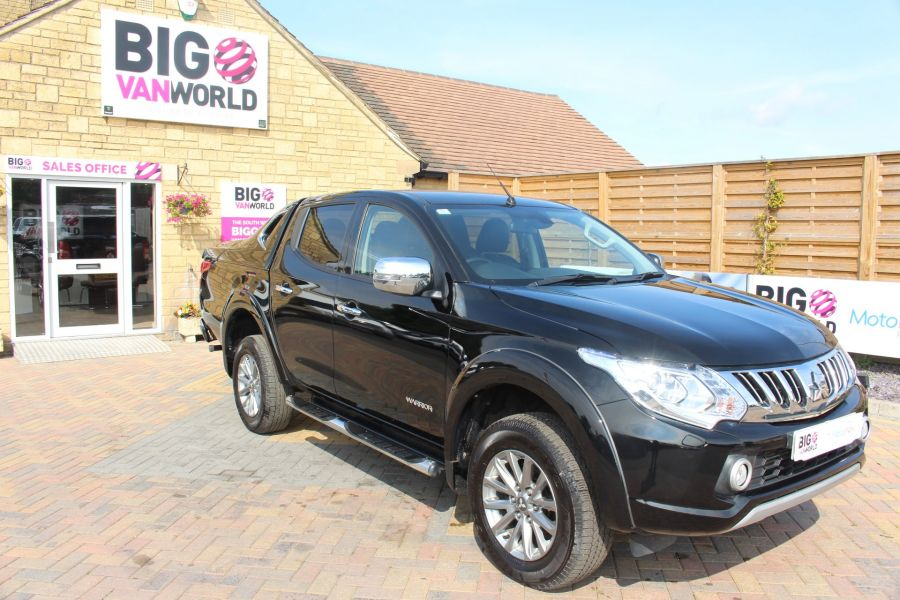 MITSUBISHI L200 DI-D 178 4WD WARRIOR DOUBLE CAB WITH MOUNTAIN TOP - 6974 - 3