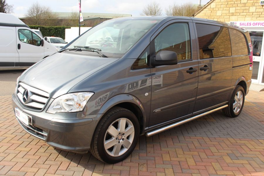 MERCEDES VITO 116 CDI 163 DUALINER COMPACT SPORT SPECIAL EDITION 5 SEAT CREW VAN - 7444 - 8