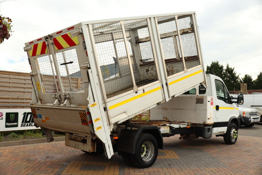IVECO DAILY 70C18 3450 WB SINGLE CAB ALLOY CAGED TIPPER WITH TAIL LIFT - 9614 - 15