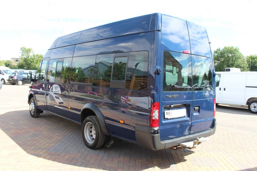 FORD TRANSIT 430 TDCI 135 LWB HIGH ROOF 17 SEATS BUS - 6332 - 6