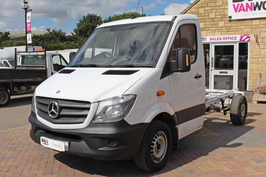 MERCEDES SPRINTER 313 CDI 129 MWB SINGLE CAB CHASSIS - 11014 - 10