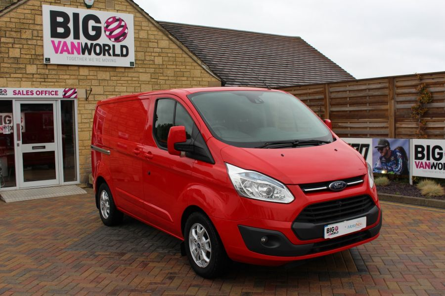 FORD TRANSIT CUSTOM 290 TDCI 125 L1 H1 LIMITED SWB LOW ROOF FWD - 9268 - 2
