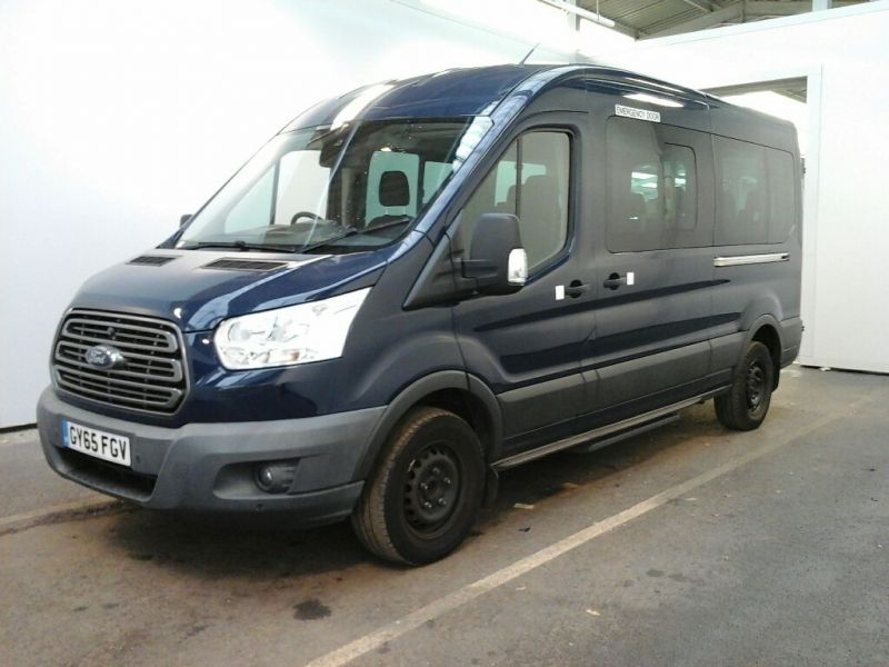 FORD TRANSIT 410 TDCI 125 L3 H2 TREND 15 SEAT BUS LWB MEDIUM ROOF RWD - 8605 - 1