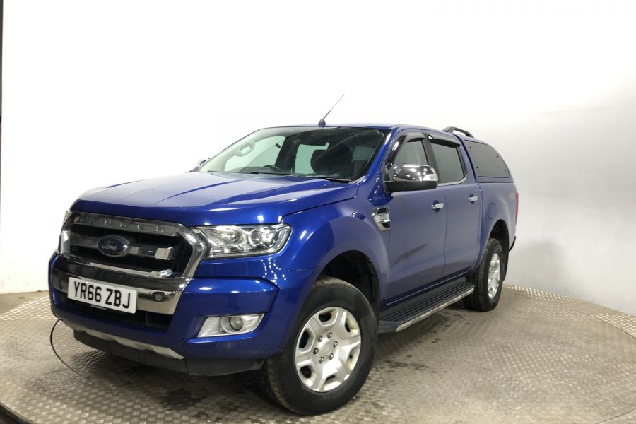 FORD RANGER TDCI 160 LIMITED 4X4 DOUBLE CAB WITH TRUCKMAN TOP - 12030 - 5