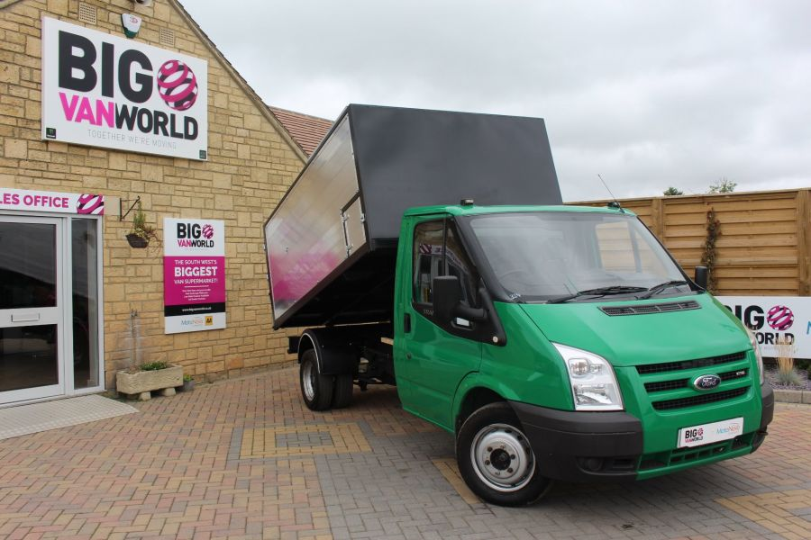 FORD TRANSIT 350 TDCI MWB SINGLE CAB NEW ALLOY ARBORIST TIPPER - 6565 - 1