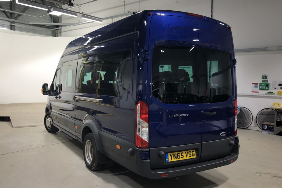 FORD TRANSIT 460 TDCI 155 L4H3 TREND 17 SEAT BUS HIGH ROOF DRW RWD - 12067 - 4