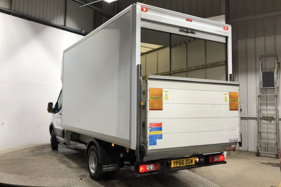 FORD TRANSIT 350 TDCI 130 L4 XLWB 'ONE STOP' LUTON VAN WITH TAIL LIFT DRW RWD - 12134 - 5