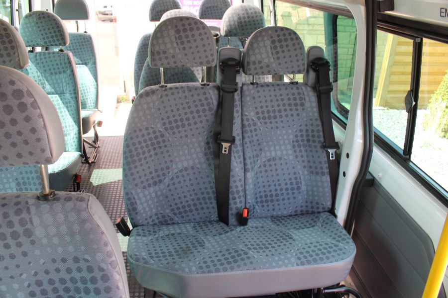 FORD TRANSIT 350 TDCI 135 LWB MEDIUM ROOF 14 SEAT BUS - 6413 - 21