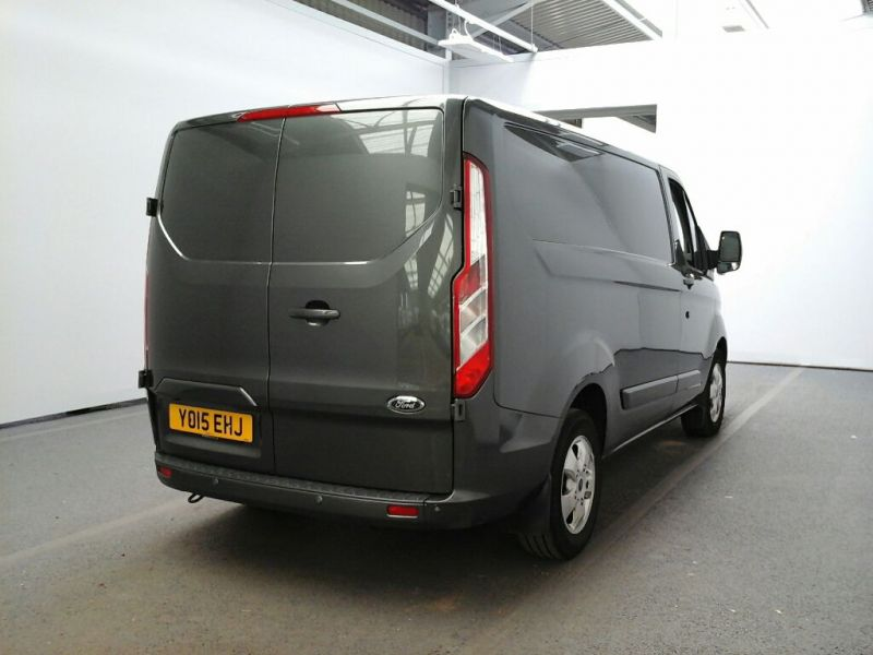 FORD TRANSIT CUSTOM 290 TDCI 125 L1 H1 LIMITED SWB LOW ROOF FWD - 8218 - 2