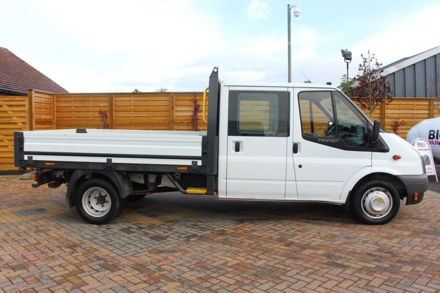 FORD TRANSIT 350 TDCI 125 LWB DOUBLE CAB 'ONE STOP' ALLOY DROPSIDE DRW RWD - 6761 - 4