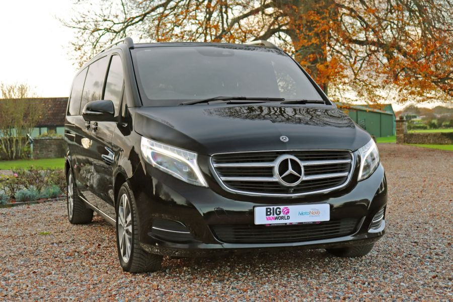 MERCEDES V-CLASS V250 CDI 190 BLUETEC SPORT EXTRA LONG 8 SEATS 7G-TRONIC PLUS - 11788 - 5