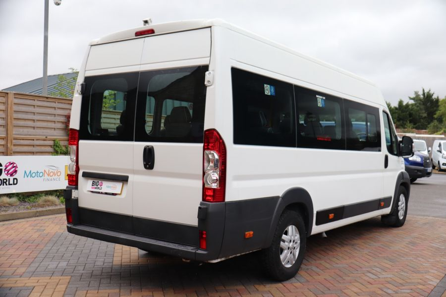 PEUGEOT BOXER 440 HDI 130 L4H2 17 SEAT BUS HIGH ROOF WITH WHEELCHAIR ACCESS - 9625 - 5