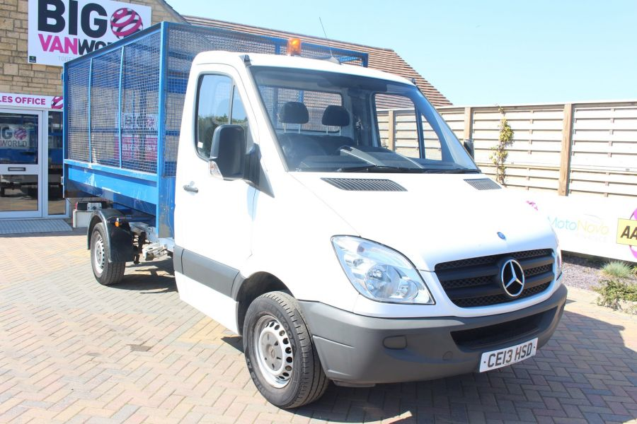 MERCEDES SPRINTER 313 CDI 129 MWB SINGLE CAB CAGED TIPPER - 9129 - 11