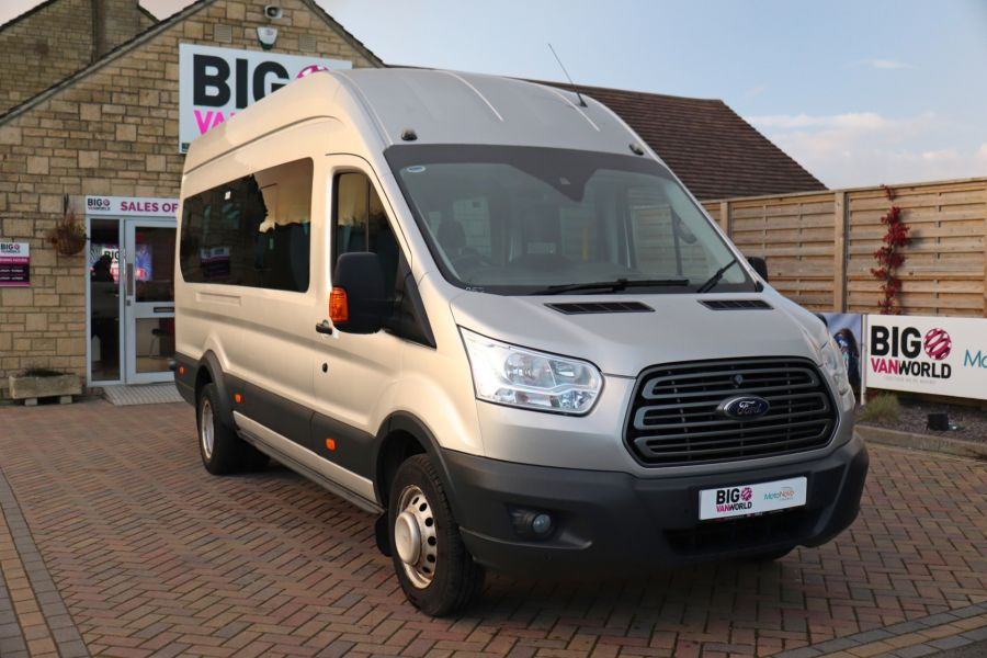 FORD TRANSIT 460 TDCI 155 L4H3 TREND 17 SEAT BUS HIGH ROOF DRW RWD - 10109 - 3