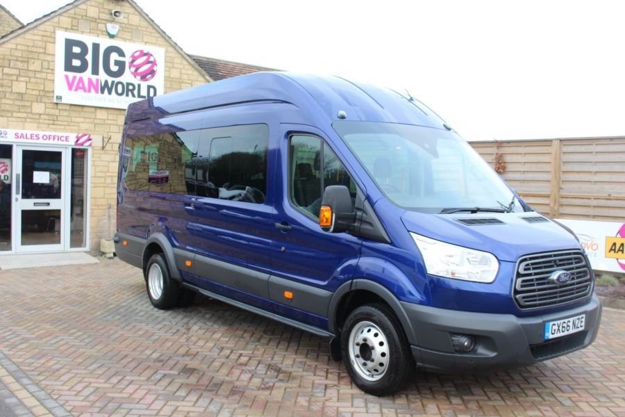 FORD TRANSIT 460 TDCI 125 TREND L4 HIGH ROOF 17 SEAT BUS - 8546 - 3