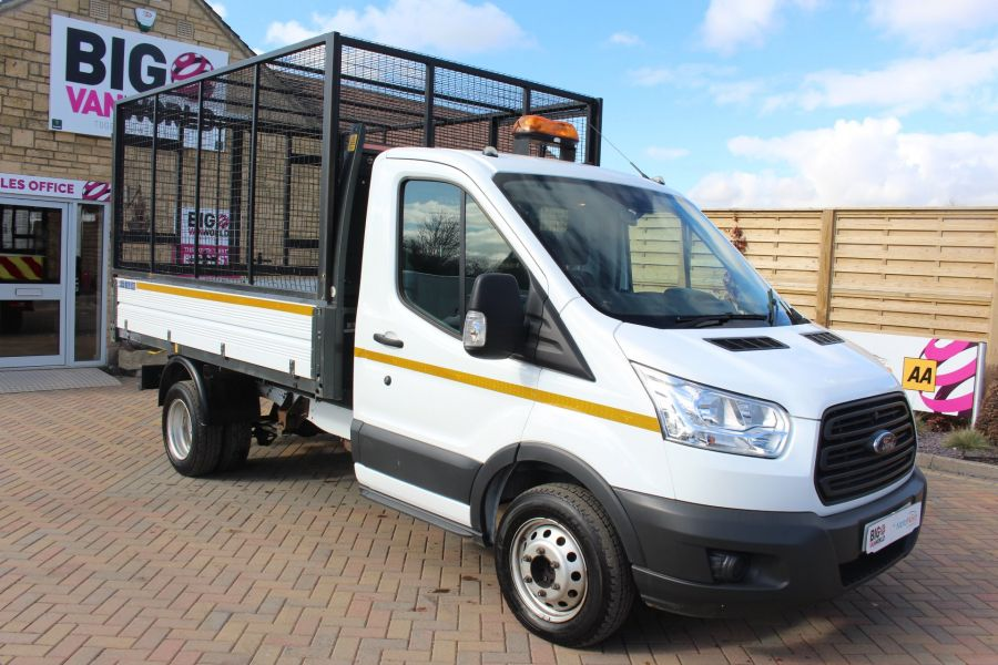 FORD TRANSIT 350 TDCI 125 SINGLE CAB 'ONE STOP' CAGED TIPPER DRW RWD - 7297 - 10