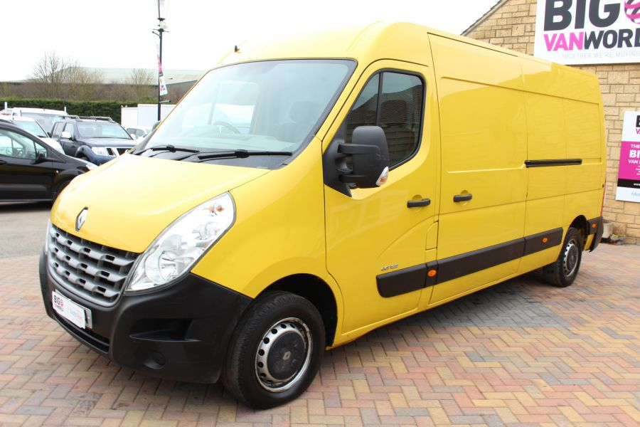 RENAULT MASTER LM35 DCI 125 LWB MEDIUM ROOF - 7494 - 8