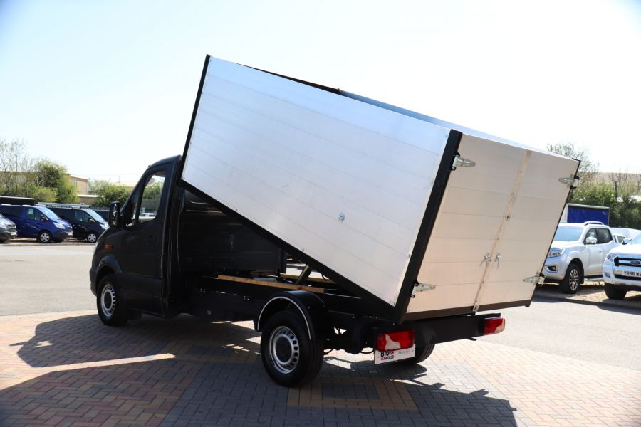 MERCEDES SPRINTER 313 CDI 129 SINGLE CAB NEW BUILD HIGH SIDED ALLOY TIPPER - 9672 - 8