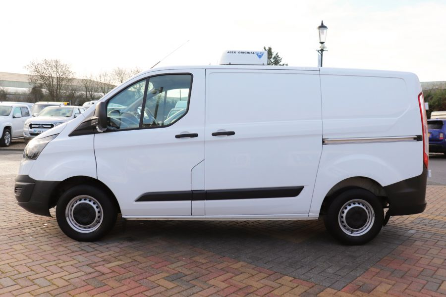 FORD TRANSIT CUSTOM 270 TDCI 105 L1H1 SWB LOW ROOF FRIDGE VAN WITH OVERNIGHT FWD - 11587 - 11