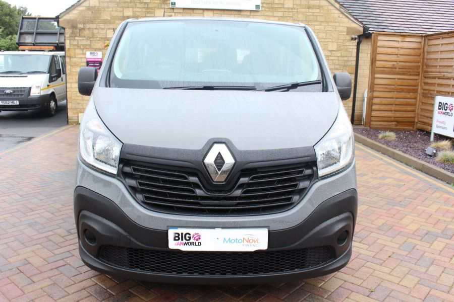 RENAULT TRAFIC SL27 DCI 115 BUSINESS DOUBLE CAB 6 SEAT CREW VAN SWB LOW ROOF - 8178 - 9