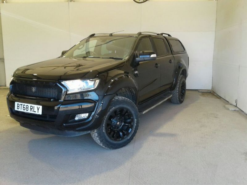 FORD RANGER TDCI 200 WILDTRAK DERANGED 4X4 DOUBLE CAB WITH TRUCKMAN TOP - 9736 - 1