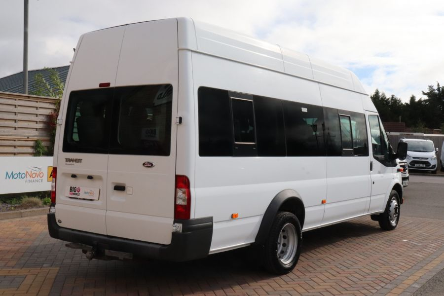 FORD TRANSIT 430 TDCI 135 EL LWB 17 SEAT BUS WITH WHEELCHAIR ACCESS HIGH ROOF DRW RWD - 9665 - 5
