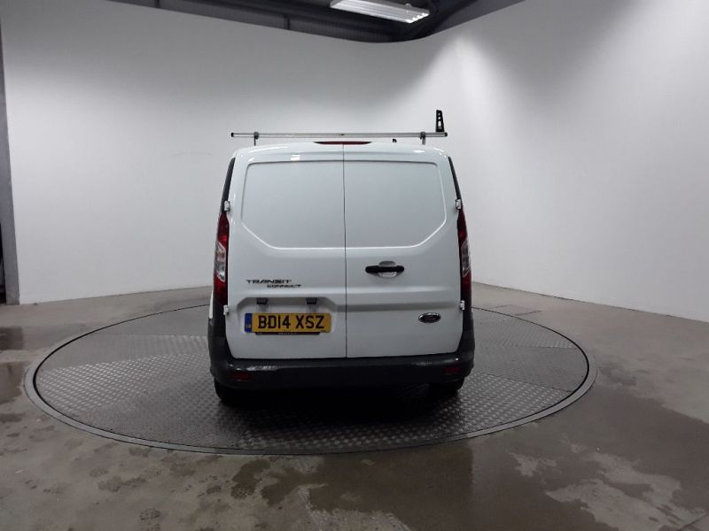 FORD TRANSIT CONNECT 220 TDCI 75 L1H1 DOUBLE CAB 5 SEAT CREW VAN SWB LOW ROOF - 11560 - 4