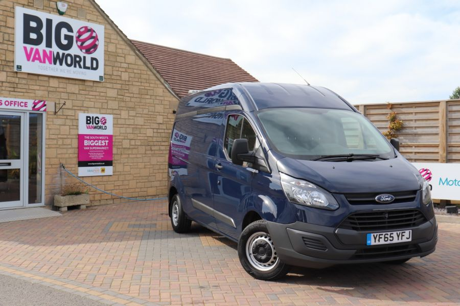 FORD TRANSIT CUSTOM 310 TDCI 100 L2H2 LWB HIGH ROOF FWD - 9697 - 1