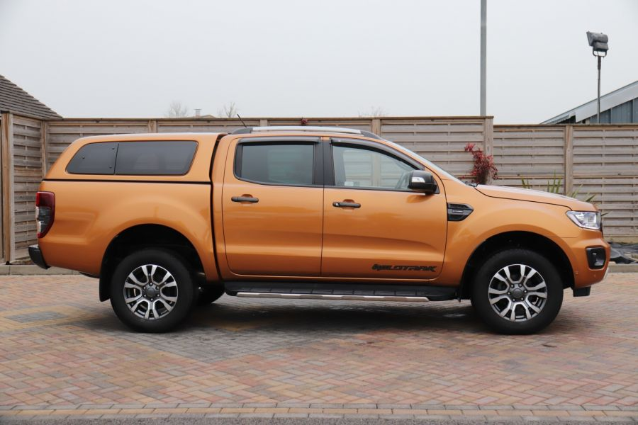 FORD RANGER WILDTRAK 2.0 ECOBLUE 213 4X4 DOUBLE CAB WITH TRUCKMAN TOP - 11613 - 7