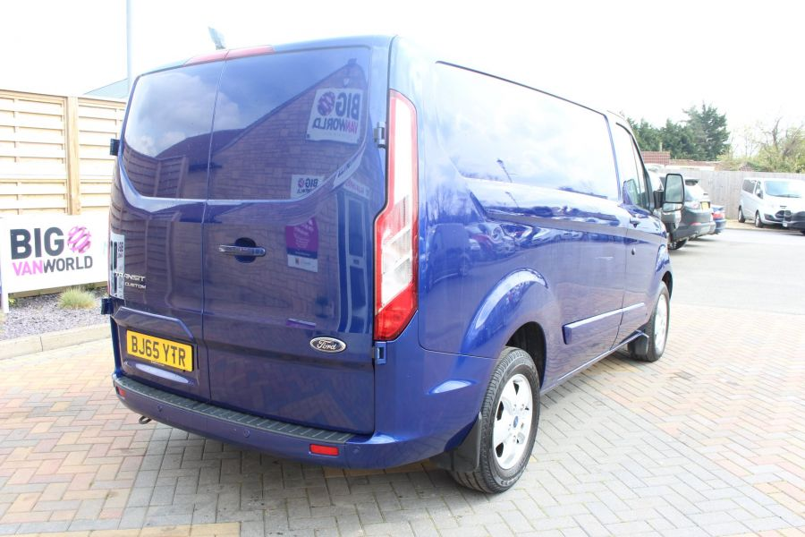 FORD TRANSIT CUSTOM 290 TDCI 125 L1 H1 LIMITED SWB LOW ROOF FWD - 9056 - 5