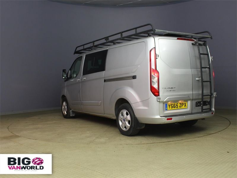 FORD TRANSIT CUSTOM 290 TDCI 125 L2 H1 LIMITED DOUBLE CAB 6 SEAT CREW VAN LWB LOW ROOF  - 8859 - 4