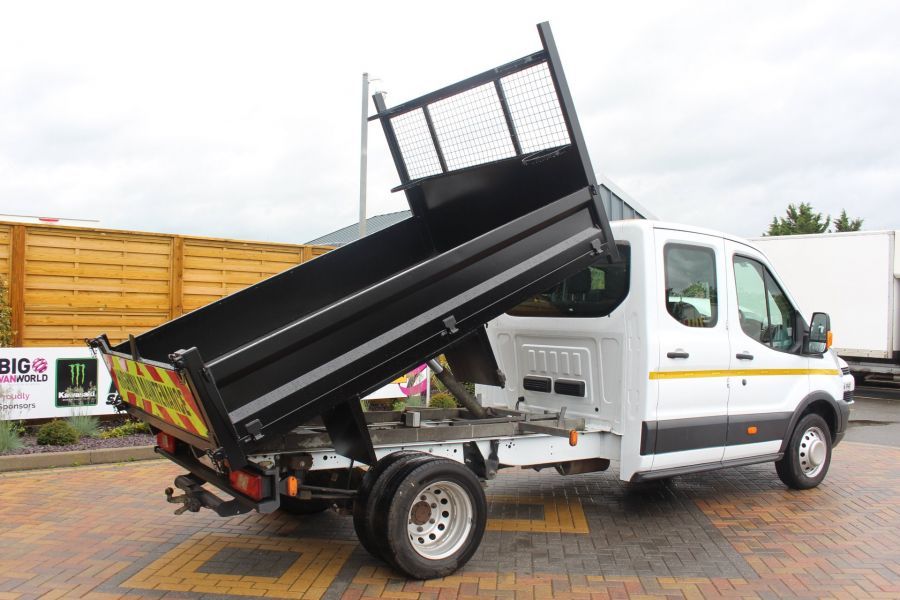 FORD TRANSIT 350 TDCI 125 L3 DOUBLE CAB STEEL TIPPER DRW - 6192 - 4