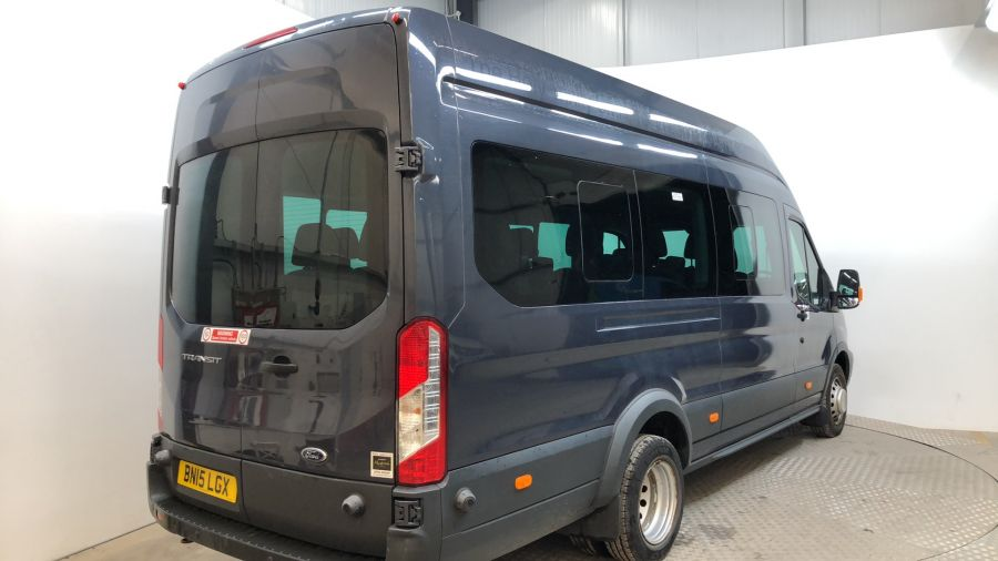 FORD TRANSIT 460 TDCI 155 L4H3 TREND 17 SEAT BUS HIGH ROOF DRW RWD - 11705 - 3
