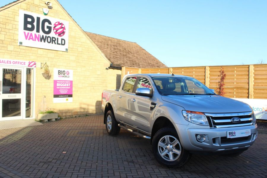 FORD RANGER TDCI 150 LIMITED 4X4  DOUBLE CAB - 6981 - 1