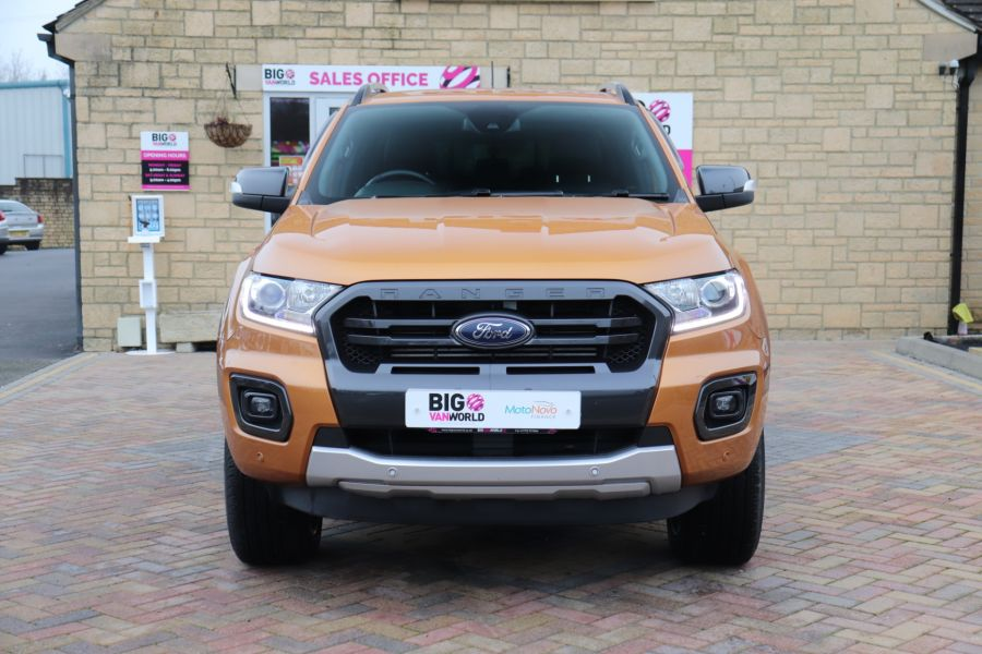FORD RANGER WILDTRAK 2.0 ECOBLUE 213 4X4 DOUBLE CAB WITH TRUCKMAN TOP - 11613 - 13