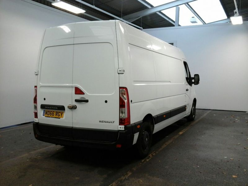 RENAULT MASTER LM35 DCI 130 BUSINESS LWB MEDIUM ROOF FWD - 8647 - 2